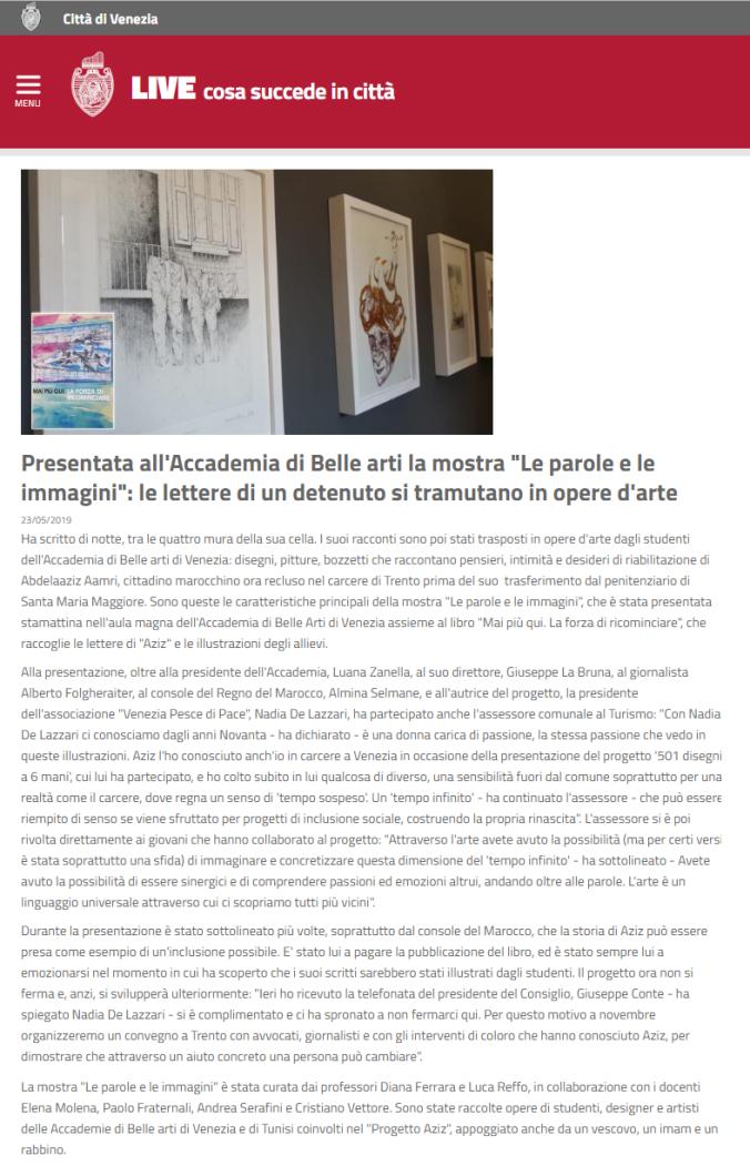 comune di venezia 23 maggio 2019 - Progetto Aziz - Venezia Pesce di Pace.png
