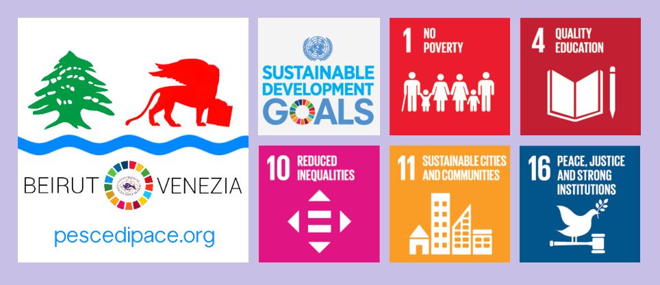 Questa immagine ha l'attributo alt vuoto; il nome del file è pesce-di-pace-obiettivi-agenda-2030-progetto-venezia-beirut-.png